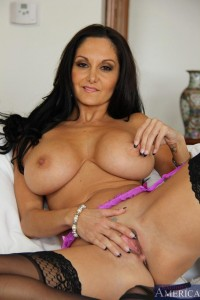 Ava Addams fucking a young guy